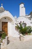 Trullo. Alberobello. Apulia. fotografia stock