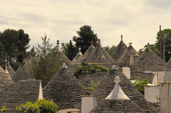 Trullo,alberobello, building,italy. Old building system well kept. The structure in the picture is called sovereign trullo. city of alberobello. Puglia. Italy Royalty Free Stock Photo