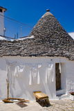 Trullo in Alberobello, Italy Stock Image