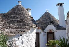 Trullo in Alberobello, Italy Royalty Free Stock Photography