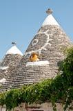 Trullo Alberobello Puglia Italië Royalty-vrije Stock Foto's