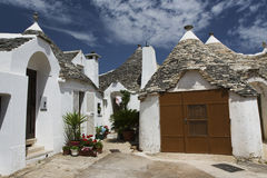 Trullo at Alberobello, Puglia, Italy Stock Image