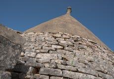 Trullo, casas polémicas Puglia Italia Foto de archivo
