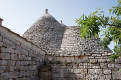Trullo, casas polémicas Puglia Italia Imagen de archivo