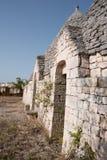 Trullo, casas polémicas Puglia Italia Imagenes de archivo