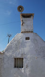 Trullo with Chimney Royalty Free Stock Image