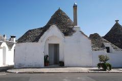 Trullo dans Alberobello images stock