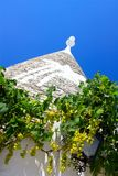 Trullo and grapes royalty free stock images