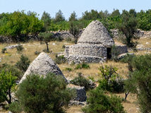 Trullo hut Stock Photo