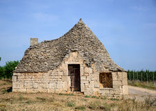 Trullo hut Royalty Free Stock Image