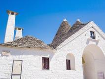 Trullo Maggiore, Alberobello, herencia de la UNESCO, Puglia, Italia foto de archivo