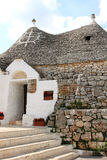 Trullo Siamese in Alberobello, Italy Royalty Free Stock Image
