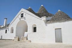 Trullo soberano. Alberobello. Apulia. imagen de archivo libre de regalías