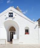 Trullo soberano em Alberobello Fotos de Stock Royalty Free