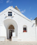 Trullo soberano en Alberobello Fotos de archivo libres de regalías