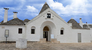 Trullo Sovrano, Alberobello Royalty Free Stock Photos