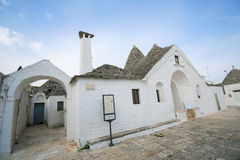 Trullo Sovrano in Alberobello, Puglia, Italy Stock Photos