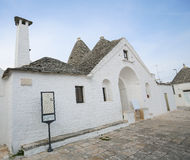 Trullo Sovrano in Alberobello, Puglia, Italy Royalty Free Stock Photos