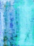 Trullo y Art Painting abstracto azul Fotografía de archivo libre de regalías