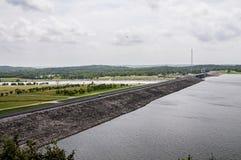 Truman sjö och fördämning på Warasaw Missouri USA arkivfoton