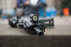 Trumma av geväret Arkivfoton