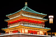 Trumma tornet, XI `, Kina royaltyfri fotografi