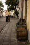 Trumma yttre Tallinn 001 Arkivbilder