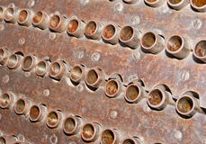 trummablockmitrailleuse Royaltyfri Fotografi