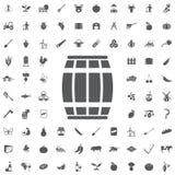 Trummasymbol royaltyfri illustrationer
