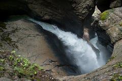 Trummelbach Falls, Switzerland Royalty Free Stock Photo