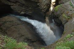 Trummelbach vattenfall Royaltyfria Foton