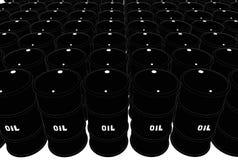Trummor av olja Royaltyfri Foto