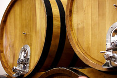 Trummor i en wine Arkivbilder