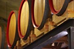 Trummor i en wine Royaltyfri Foto