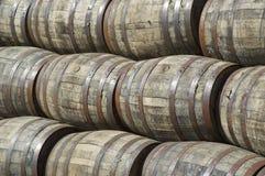 trummor staplade whisky Royaltyfria Bilder