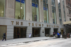 The Trump Building in New York City Stock Image