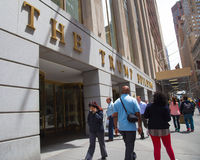 Trump che costruisce NYC Fotografia Stock
