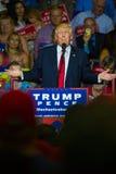Trump che parla al raduno Fotografie Stock Libere da Diritti