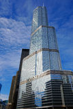 Trump Hotel, Chicago, USA. The Trump International Hotel and Tower, Chicago Illinois, USA Stock Photo