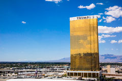 Trump Hotel Las Vegas Royalty Free Stock Image