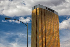 The Trump hotel Las Vegas. Royalty Free Stock Image