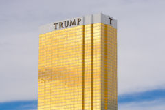 Trump Hotel Las Vegas Royalty Free Stock Photos