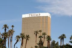 Trump Hotel, Las Vegas Stock Photos