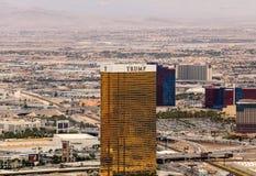 Trump Hotel in Las Vegas Stock Photos