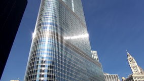 Trump Hotel and Spa Chicago - City of Chicago stock video