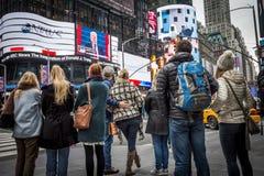Trump Inauguration Manhattan Stock Photography