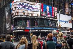 Trump Inauguration NYC Royalty Free Stock Image