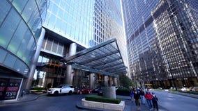 Trump International Hotel Chicago - City of Chicago stock footage