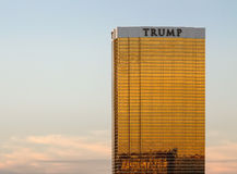 The Trump International Hotel in Las Vegas Stock Photography
