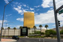 Trump International Hotel, Las Vegas Royalty Free Stock Photography